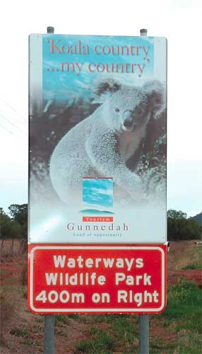 Waterways Wildlife Park - Accommodation Port Macquarie