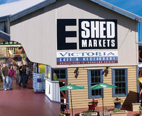 The E Shed Markets - Accommodation Port Macquarie